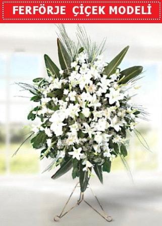 Ferförje çiçek modeli  Kayseri çiçek internetten çiçek satışı