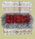 Kayseri çiçek hediye sevgilime hediye çiçek  Sandikta 11 adet güller - sevdiklerinize en ideal seçim